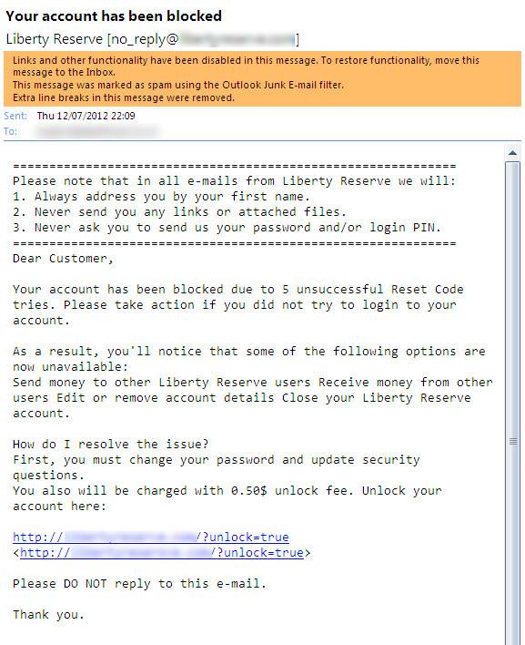 Scam Mails #1