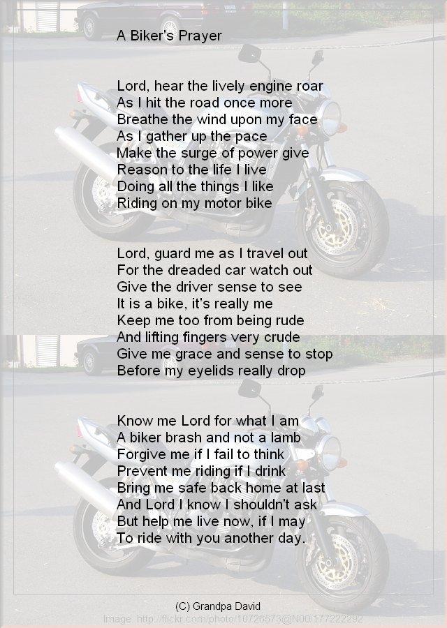 bikersPrayer